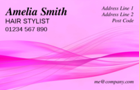 An abstract background design with pink/magenta waves which is often used by fashion designers.