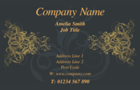 Business card design templates background designs page 1 an elegant business card design for generic use colourmoves