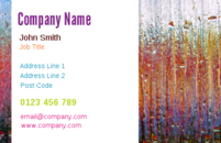 Business card designs that can be used by cleaners of as a generically as a background design.