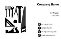 Carpenter business card designs.
