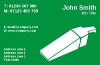 These are cleaner business card templates.