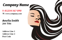 Business card design templates hairdressing beautician page 1 a popular business card design for hairdressers colourmoves