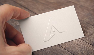 Special business cards from 45 central london simplyprint luxurious embossed business cards reheart Choice Image