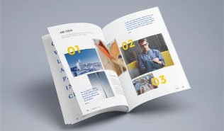 Buy professionally printed brochures