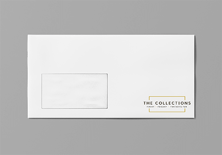Professionally printed DL envelopes
