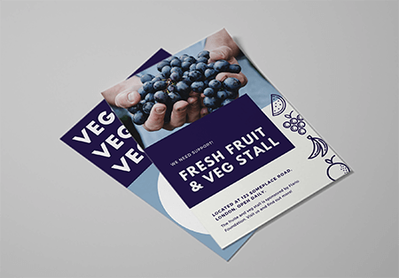 Professionally printed A5 leaflets